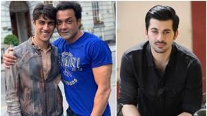 While Bobby Deol's son Aryaman is studying in New York, his nephew Karan Deol made his Bollywood debut last year.(Instagram)
