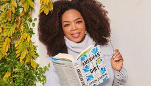 TV personality Oprah Winfrey chooses the novel American Dirt for her book club
