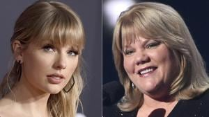 Taylor Swift has revealed in a new interview that her mother has a brain tumour.(AP)