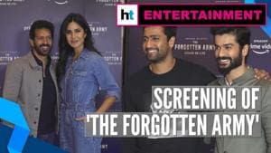 Watch star studded red carpet screening of 'The Forgotten Army'