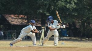 PDCA u-16 inter school cricket: Symbiosis School shine on day 1