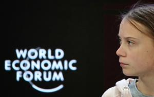 Swedish climate change activist Greta Thunberg attends a session at the 50th World Economic Forum (WEF) annual meeting in Davos, Switzerland.(Reuters image)