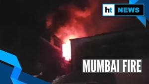 Mumbai: Fire breaks out due to cylinder blast in Kurla West