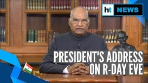 Youth should remember Gandhi's 'gift of Ahimsa': President on Republic Day eve