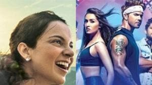 Panga Vs Street Dancer 3D box office day 1: Kangana Ranaut film off to a slow start at Rs 2.7 cr, Varun-Shraddha film earns Rs 10.26 crore