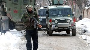 Qari Yasir, a Pakistani, was killed at the Hariparigam village of Tral after a day-long encounter with security forces(ANI Photo/File)