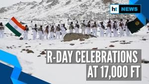 Watch: ITBP jawans celebrate Republic Day, hoist flag at 17,000 feet in Ladakh