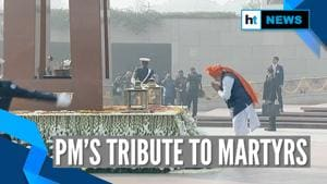 71st Republic Day: PM Modi pays homage to martyrs at National War Memorial