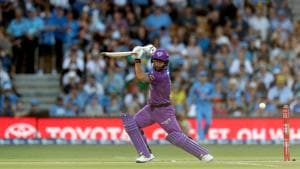 Matthew Wade of the Hobart Hurricanes(Getty Images)