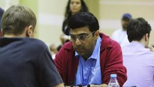 Viswanathan Anand draws with Kovalev; Caruana wins Tata Steel with a round to spare