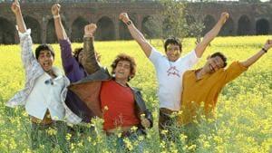 Rang De Basanti starred Aamir Khan, Siddharth, Sharman Joshi and others.