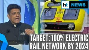 Indian Railways to run 100% on electricity by 2024: Minister Piyush Goyal