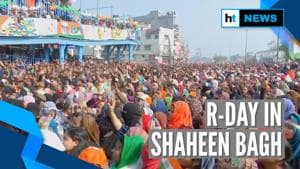Watch how Delhi's Shaheen Bagh observed Republic Day amid anti-CAA protests