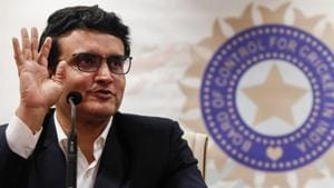 Former Indian cricketer and current BCCI (Board Of Control for Cricket in India) president Sourav Ganguly.(REUTERS)