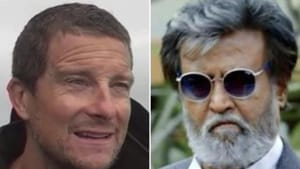 Bear Grylls and Rajinikanth will collaborate for an episode of 'Man vs Wild'.