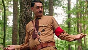 Jojo Rabbit movie review: Taika Waititi as Adolf Hitler in a still from his new film.