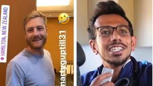 WATCH: Chahal asks Guptill to repeat Hindi cuss word, here's what he said