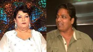 Ganesh Acharya has accused Saroj Khan of conspiring against him.