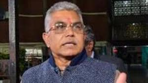 West Bengal BJP chief Dilip Ghosh advised BJP leaders and workers to do something to go to jail to become leaders.(PTI Photo/File)