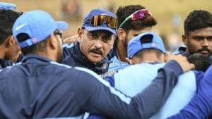 File image of India head coach Ravi Shastri.(AP)