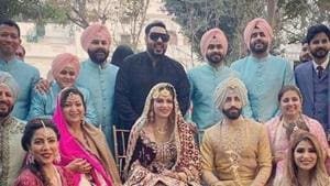Gurdas Mann's son GurricKk G Mann marries Simran Kaur Mundi.