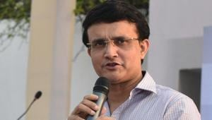 A file photo of Sourav Ganguly.(HT Photo)