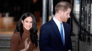 A clear majority of Canadians feel their country does not have to pay for security for Prince Harry and his wife Meghan Markle, who have settled in British Columbia.(REUTERS)