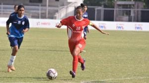 Manipur's Bala Devi has been playing in the senior national team for the past 14 years.(AIFF)