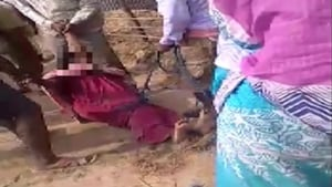 The women were allegedly tortured by a Trinamool Congress (TMC) panchayat leader and his aides.(ANI)