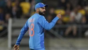 Indian captain Virat Kohli(AP)