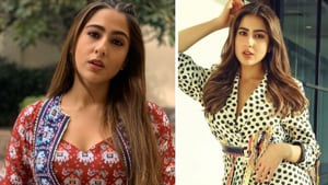 Sara Ali Khan looked gorgeous in a traditional ensemble during Love Aaj Kal promotions.(ALL PHOTOS: INSTAGRAM)