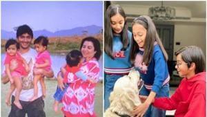Farah Khan's three children -- Anya, Diva and Czar -- turned 12 on Tuesday.(Instagram)