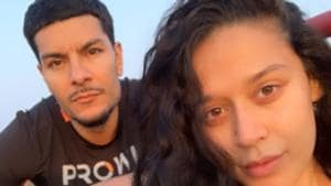 Krishna Shroff has posted a new picture with boyfriend Eban Hayms.(Instagram)