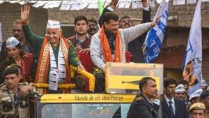 Manish Sisodia has won from the seat for two consecutive terms in 2013 and 2015 securing 41.5% and 53.5% vote share respectively.(PTI)