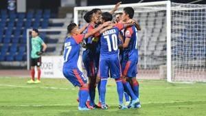Bengaluru FC defeated Paro FC.(Twitter)