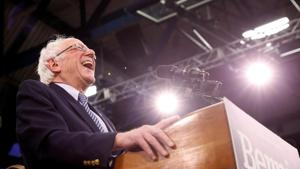 The results of the Iowa caucus and the New Hampshire primary have consolidated Bernie Sanders as the front-runner for the left-wing of the party(REUTERS)
