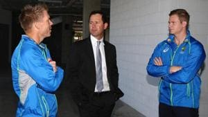 File image of Ricky Ponting (C) with Steve Smith and David Warner (L)(Getty Images)