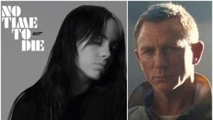 Billie Eilish and the makers of upcoming James Bond film, No Time To Die, released the title track.(Twitter)