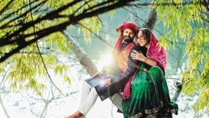 The legendary love story of Heer and Ranjha was written by Waris Shah, in the 18th century. Here, Rudrani plays Heer while her partner Shadab plays Ranjha.(PHOTO: RAAJESSH KASHYAP/HT)