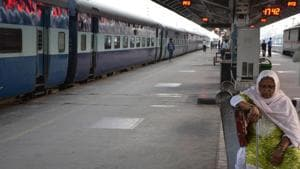 Indian Railways has around 8,400 group A service serving officers.(HT File Photo)