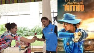 Taapsee Pannu will be seen as cricketer Mithali Raj in her biopic Shabaash Mithu.