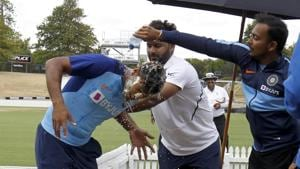 PHOTOS: Shaw, Pant join in to celebrate Mayank Agarwal's birthday
