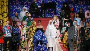 Hand sanitisers as London Fashion Week opens amid coronavirus disruption