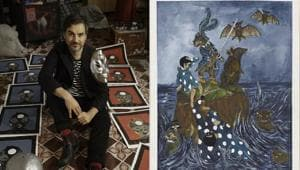 Artist Marcel Dzama's on folklores, hybrid characters, and why his art exists in a world of the subconscious
