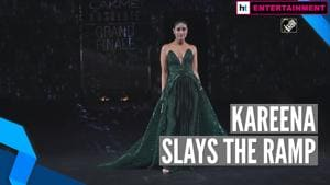 Kareena Kapoor sets the ramp on fire at the grand finale of Lakme Fashion Week