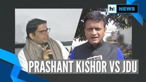 Prashant Kishor asks Nitish to choose between Gandhi & Godse; JDU hits back