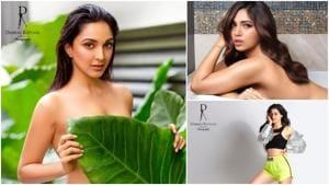 Kiara Advani, Bhumi Pednekar, Ananya Panday for Dabboo Ratnani's calender.(Dabboo Ratnani/Instagram)