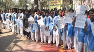Bihar Board matric exam: 50 students expelled on day 1, fake question paper goes viral