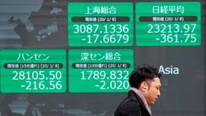 Investors have taken some comfort from a slowdown in new infections outside hardest-hit Hubei province, which Chinese officials say is a sign that the outbreak is under control.(REUTERS)