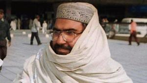 Maulana Masood Azhar is suffering from a life-threatening spine aliment, and his brother Abdul Rauf Asghar Alvi has taken over as the de facto emir of JeM, according to officials in Indian intelligence agencies .(AP Photo)